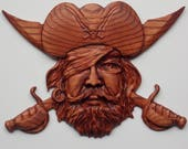 Pirate Decor Wooden Sign,...