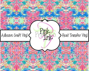 Beautiful Patterned Craft Vinyl and Heat Transfer Vinyl in pattern 758