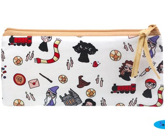 NEW! Inspired by Potter Pencil Case   Potter Zip Bag