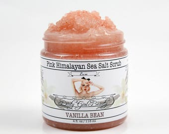 Luxe Pink Himalayan Sea Salt Scrub - 4 fl. oz. Jar - Vegan