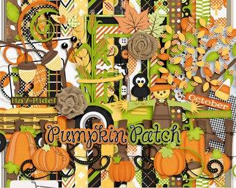 At The Pumpkin Patch Digital Scrapbook Kit