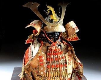 O-yoroi Samurai Armour Tango no Sekku Decoration, Koedo