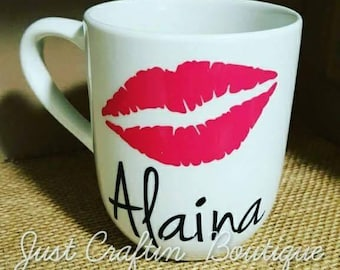 Custom lips mug // ANY colors