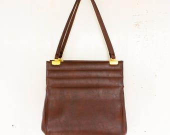 Vintage Bobbie Jerome Leather Handbag