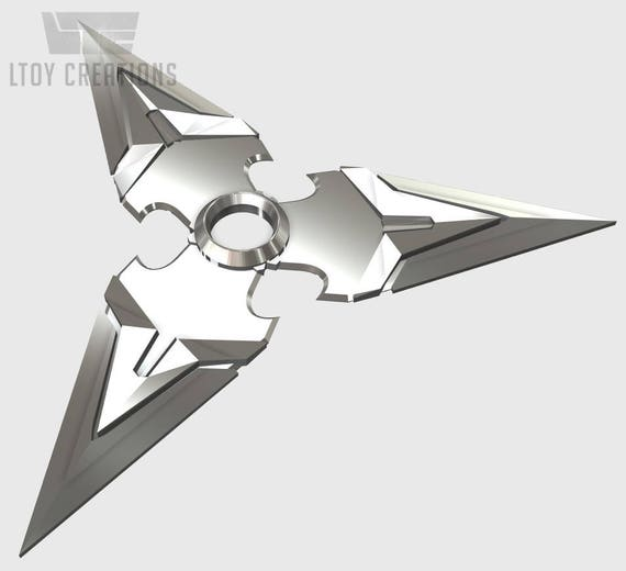 how to draw genji shuriken