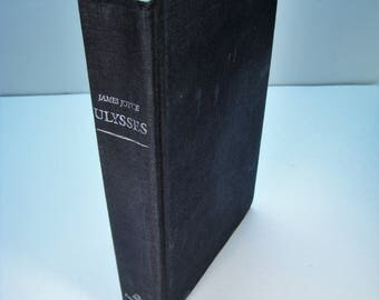 1st American Ed./1st Prt. ULYSSES by James Joyce, Fair 1986 Hardcover (no dust jacket)