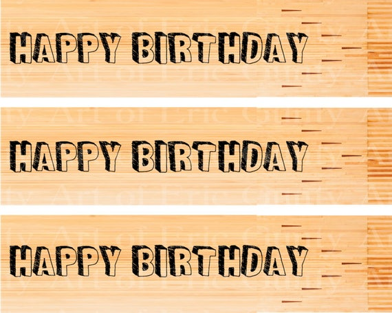 Bowling Birthday - Designer Strips - Edible Cake Side Toppers- Decorate The Sides of Your Cake! - D22669