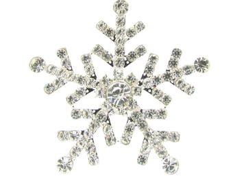 50pcs Rhinestone Snowflake Flat Back Diamante Snowflakes Wholesale Winter Weddings DIY Wedding Invitation Supplies Bridal Crafts