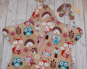 Fleece 'Star Blankie'....Woodland Animals
