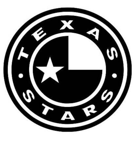 TEXAS Stars decal, Stars Hockey decal, stars hockey decals, Hockey decals, Ice Hockey decals, yeti decals hockey, Texas hockey decals, signs