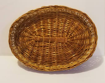 Woven Oval Basket