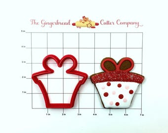 Gift Box Cookie Cutter
