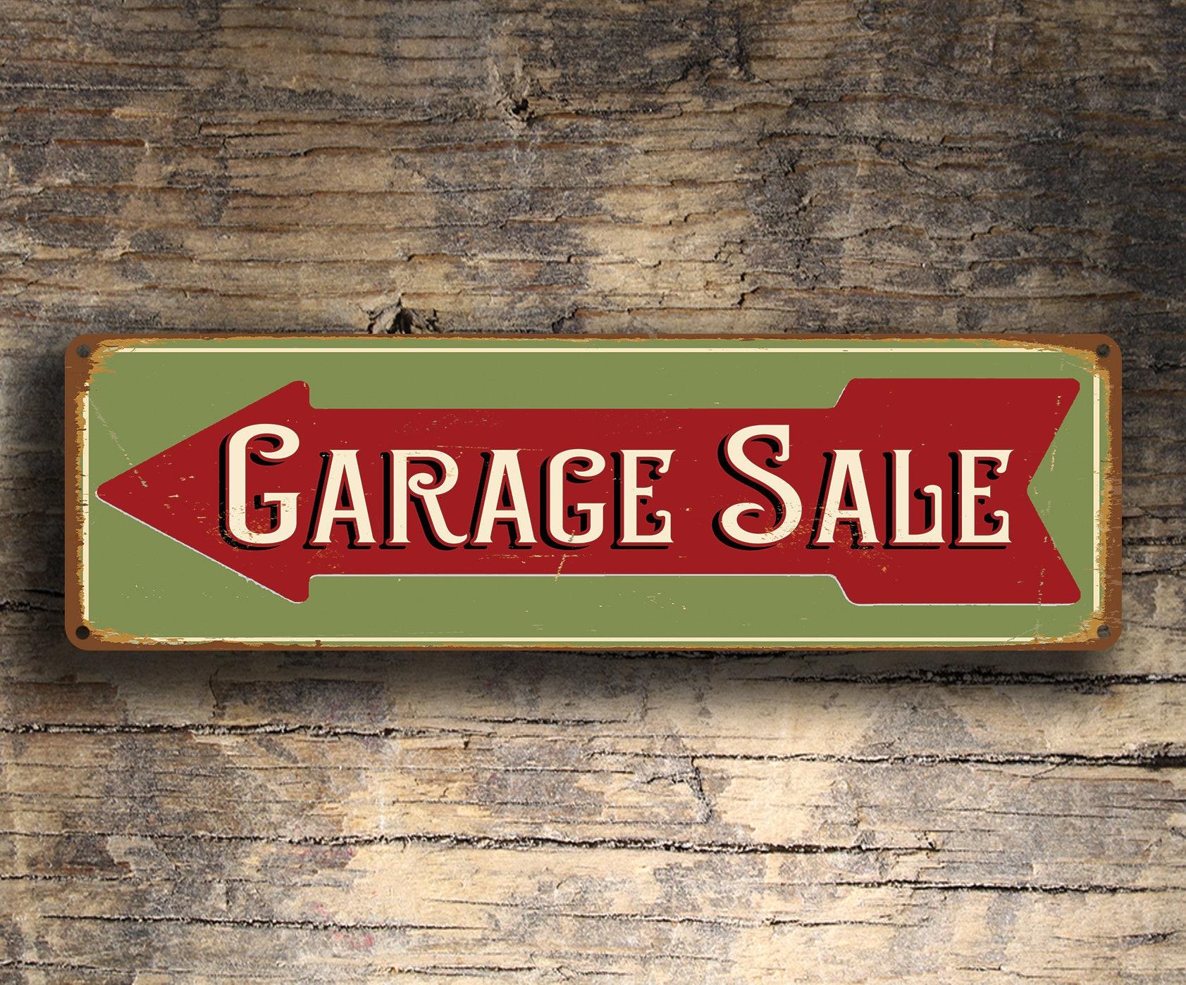 Well-known Garage Sale Sign, Garage Sale Directional Sign, Garage Sale Arrow  KS37