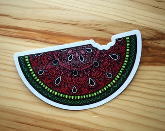 Zentangle - Watermelon