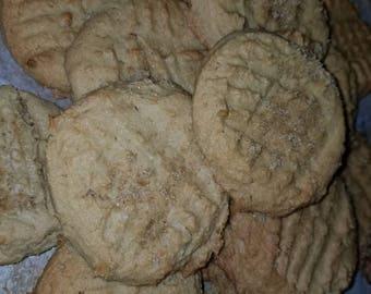 2 dozen Farmhouse Peanut Butter Cookies