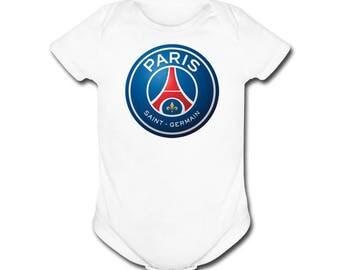 Paris SG 12 Months Futbol Football Soccer T- SHIRT / Onepiece Paris Saint Germain Football Club