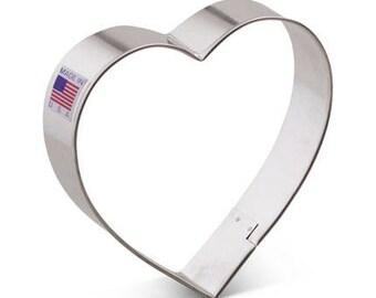 """Heart Cookie Cutter 4""""-Ann Clark-Made in USA"""