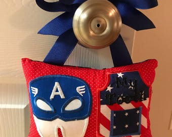 Captain America Tooth Fairy Pillow