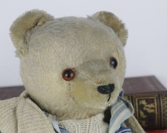 Antique Teddy Bear with Pyjamas's and Night Gown
