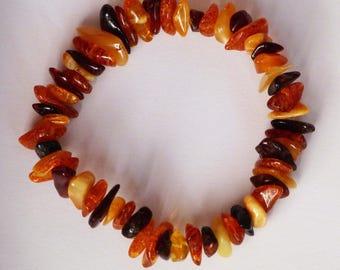Amber Crystal healing bracelet stone rocks minerals