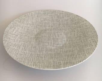 Vintage Rosenthal| Rosenthal Silk Velvet | Rosenthal Serving Plate| Rosenthal Selb Germany| Rosenthal Shallow Bowl| Silk Velvet| Midcentury