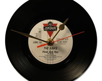 """THE KINKS """"HOW ARE YOU"""" VINYL clock 45tours"""
