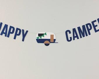 Happy Camper - Banner