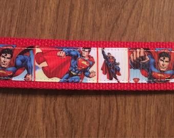 Superman Key Chain Zipper Pull Wristlet