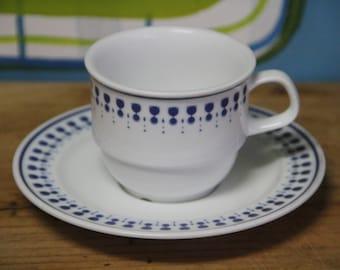 "Vintage Noritake  Primadura ""Chalice""  5004  Cup and Saucer"