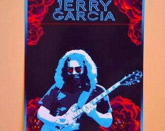 Jerry Garcia Poster Print