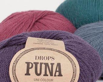 DROPS Puna Colours, 100% Alpaca, DK