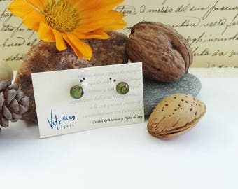 Snails, Earrings made with Murano Glass and Sterling Silver