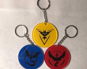 SALE** Pokemon Go Acrylic Keychain