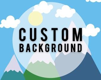 Custom Background Add-on