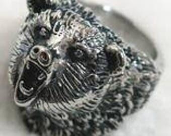 Wild Bear Ring
