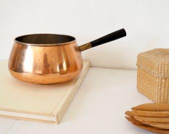 Vintage Copper Cooking Pot