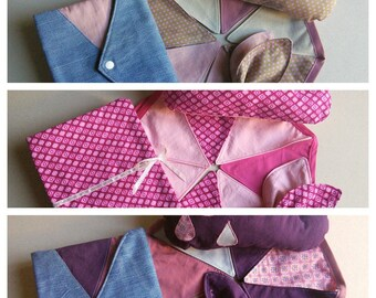 Baby themed gift box pink 4pcs