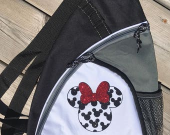 Minnie or Mickey Personalized Sling Bag