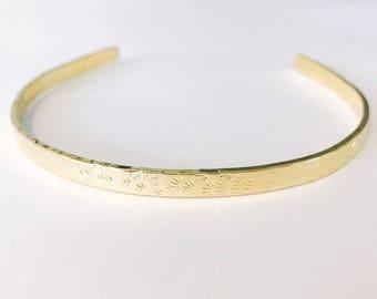 Gold Textured Choker