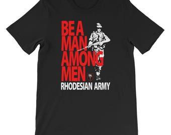 Be A Man Among Men Short-Sleeve Unisex T-Shirt