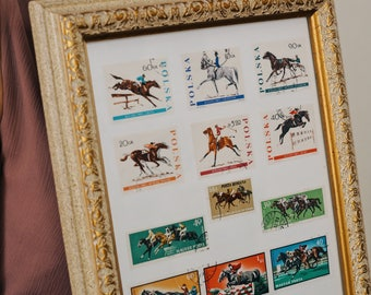 Equestrian Stamps Olympic Games 1972