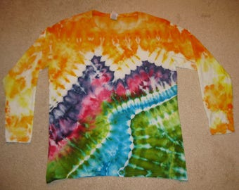 tie dye shirt, XL, earth day, tie dye, Yosemite