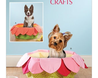 McCall's Sewing Pattern M7670 Pet Beds