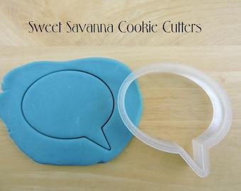 Speech Bubble Cookie Cutter