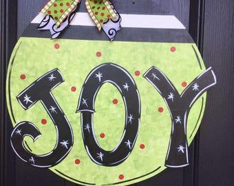 JOY Ornament Door Sign