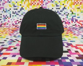 Rainbow Flag Cap