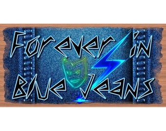 Forever in Blue Jeans - GS 2788 - Blue Jean Sign