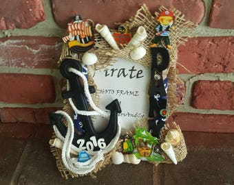 Pirate Picture Frame - Personalized
