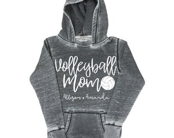 Volleyball Mom Shirt, Personalized Volleyball  Mom Shirt, Volleyball  Mom, Volleyball Mom Hoodie, Sports Mom, Volleyball
