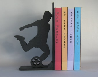 Soccer Player Bookend